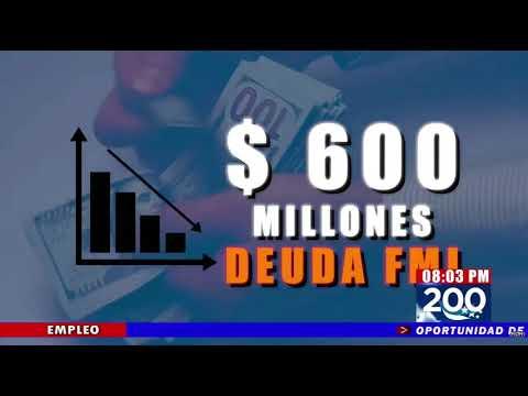 Honduras necesitará 215.8 millones de dólares en prestamos para cubrir el Presupuesto General de la