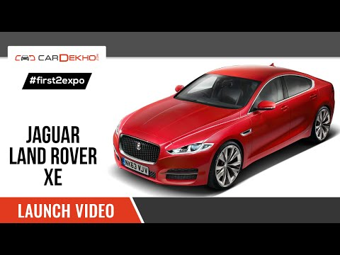 #first2expo   2016 Jaguar XE   Launch Video   CarDekho@AutoExpo2016