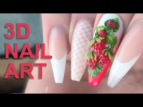 Download youtube mp3 howto 3d skull flowers nail art tutorial download youtube to mp3 3d acrylic strawberries fresh summer fruits 3d nail art nail tutorial video prinsesfo Choice Image
