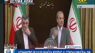 Viceministro de Salud iraní da positivo al coronavirus