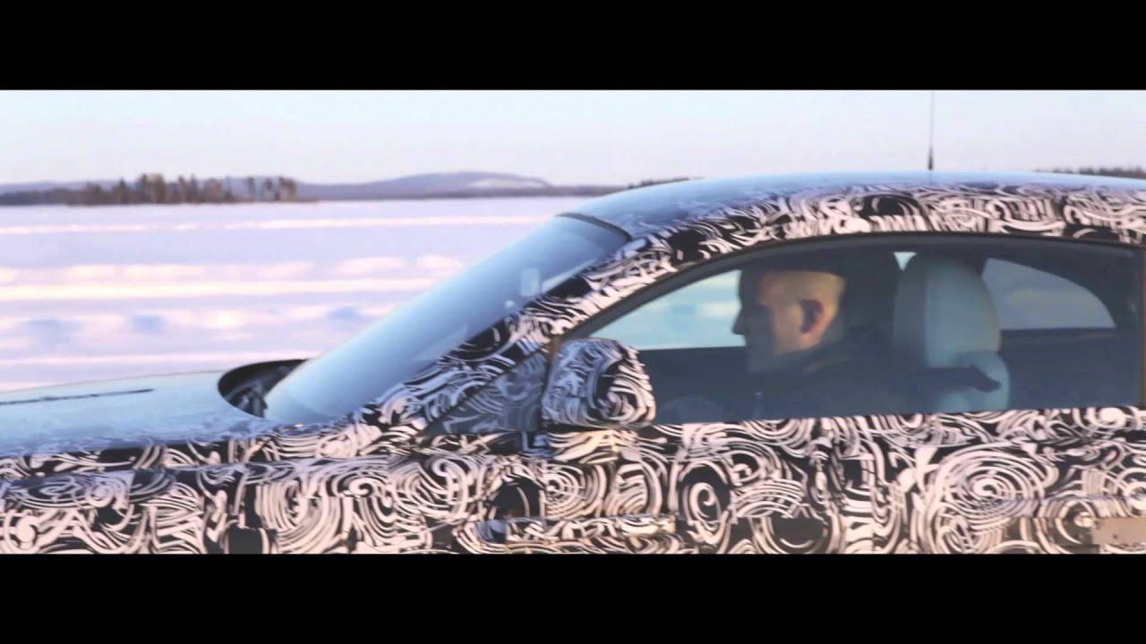 రోల్స్ రాయిస్ winter testing