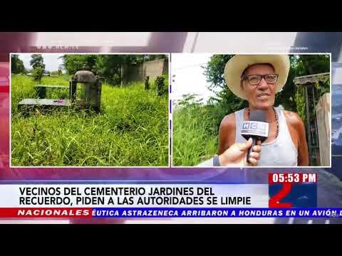 Vecinos piden que se limpie el cementerio Jardines del Recuerdo