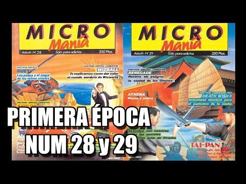 MICROMANIA PRIMERA EPOCA NUMEROS 28 y 29
