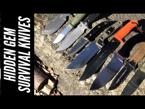 Survival Knives: Less Known & Hidden Gem Survival Knives | Benchmade, Spyderco, Work Tuff Gear, KCK