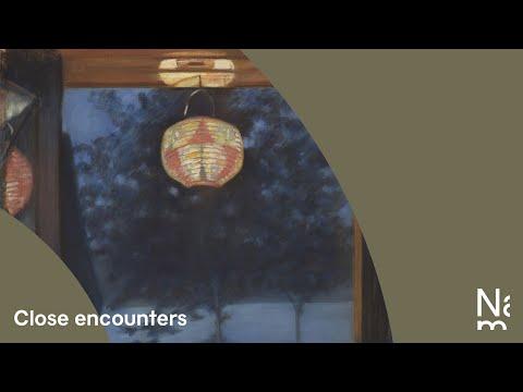 "Close Encounters: Oda Krohg's ""A Japanese Lantern"""