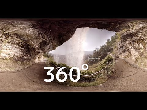 Scandinavian Wonders: 360 at Norway's Steinsdalsfossen