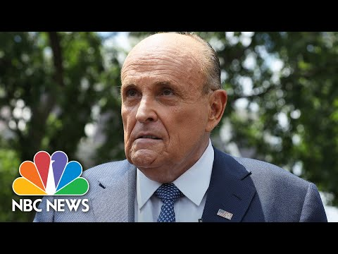 Giuliani Wanted 'Multiple Investigations' Into Joe Biden, Says Ukranian Official | NBC News NOW