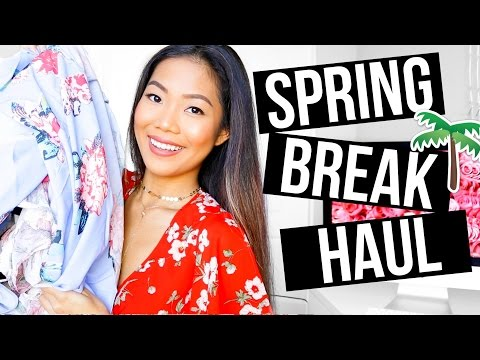 SPRING BREAK Clothing Try-On Haul 2017 || Farina Aguinaldo