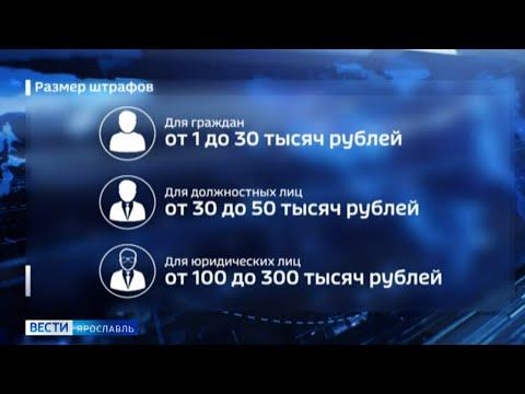 В Ярославской области стартует обязательный масочный режим: о штрафах за нарушение расскажут «Вести»