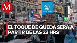 Nueva York decreta toque de queda tras protestas por George Floyd