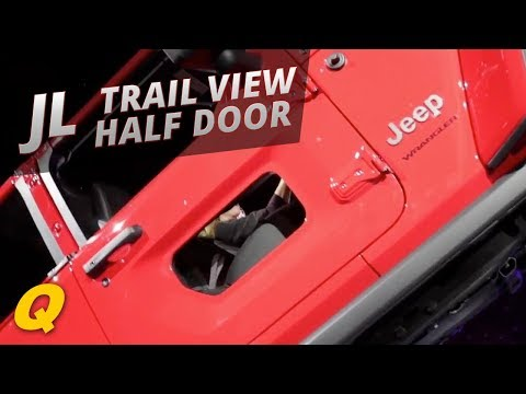 2018 Jeep Wrangler JL Rubicon Half Doors