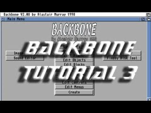 Backbone Amiga Tutorial 3