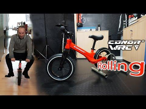 Conor Rolling: Una bici de verdad para los niños más pequeños