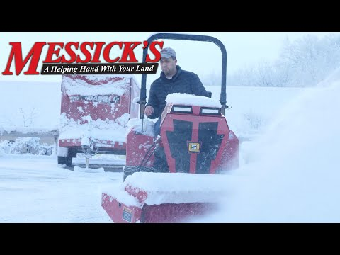 Why clearing snow with a broom is best | Steiner 450 & RS350 Brush Picture