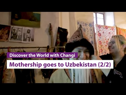 Mothership goes to Uzbekistan (Part 2)