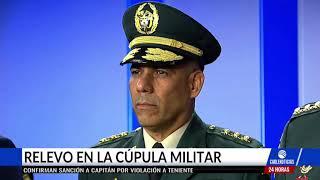 Duque anuncia salida de Nicacio Martínez como comandante del Ejército Nacional