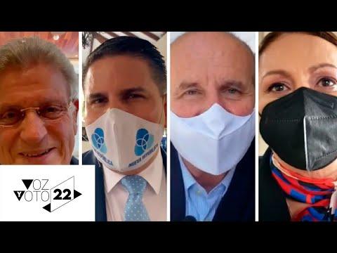 Candidatos reaccionan a encuesta del CIEP-UCR