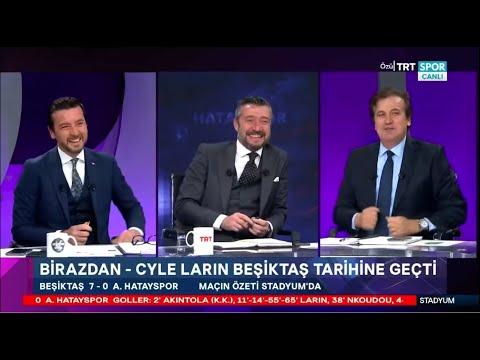 STADYUM | Beşiktaş-A.Hatayspor: 7-0 | Maç sonu yorumları, Beşiktaş gol oldu yağdı, Larin, Rıdvan…