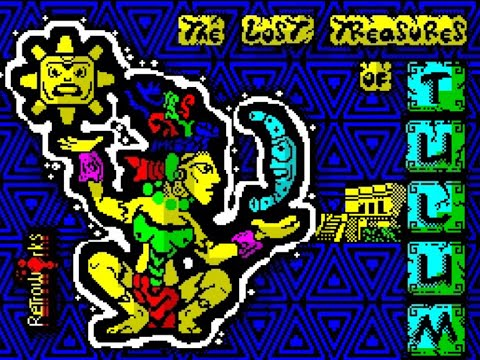 RETROJuegos HOMEBREW .... The Lost Treasures of Tulum (ZX Spectrum) - Review por Fabio Didone