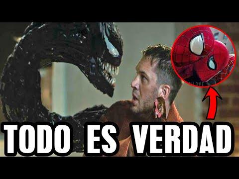 Filtraciones de Venom 2 y Tom Holland confirma rumores, escena post créditos, spider verse