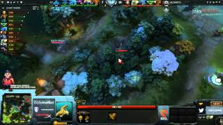 The Alliance vs Cloud 9 Game 2   Dota 2 Champions League @TobiWanDOTA