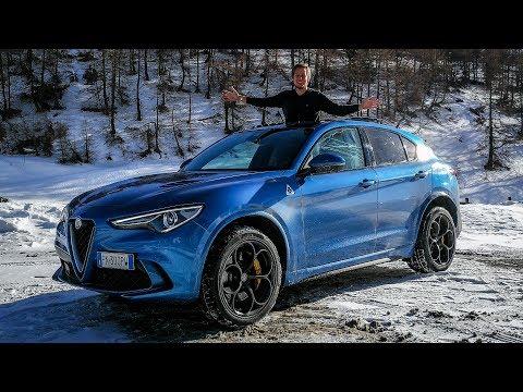 "Alfa Romeo Stelvio Quadrifoglio - Is it Fun in the Snow"" [Sub ENG]"