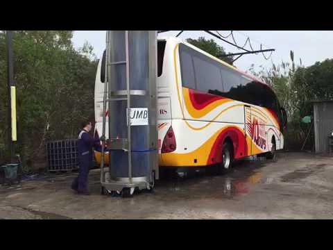 JMB VIDEO I: Como Lavar un Autobús ahorrando tiempo y Dinero
