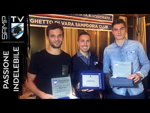 #PassioneIndelebile: la festa del Samp Club Borghetto di Vara