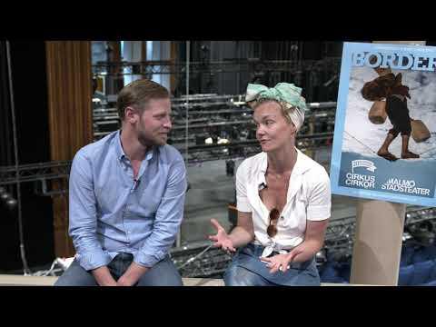 Mari Götesdotter och Sven Boräng presenterar Borders