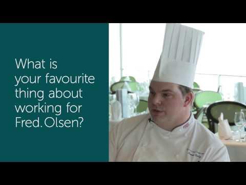 Executive Chef Simon Early - Fred. Olsen