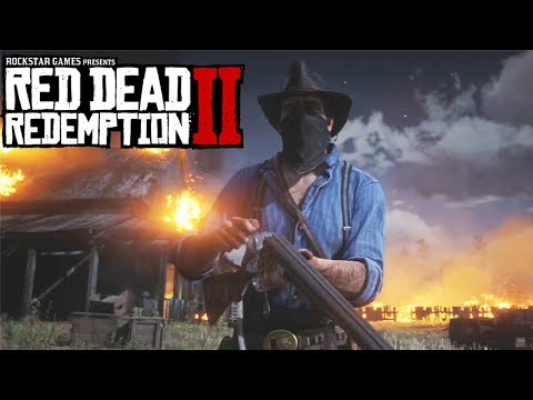 RED DEAD REDEMPTION 2 ALL Gameplay Demos & Official Trailers