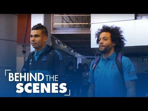 Real Madrid vs PSG: 3-1 | Behind the scenes
