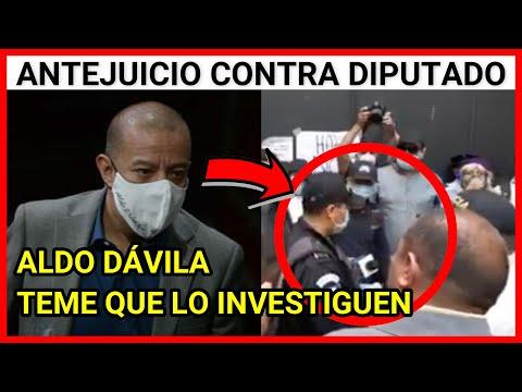 URGENTE GUATEMALA JUEZ SOLICITARÁ RETIRO DE INMUNIDAD AL DIPUTADO ALDO DAVILA Y PRESENTA AMPARO