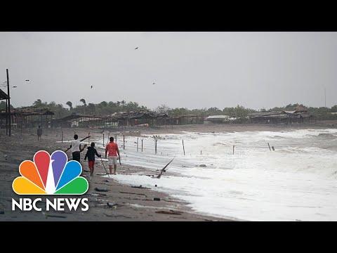 Storm Iota Creates Floods In Central America | NBC News NOW