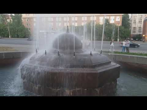 Мерцающий фонтан в Сыктывкаре