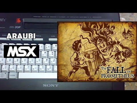 The Fall of Prometheus (Mistery Labs, 2021) MSX [794] Walkthrough Comentado