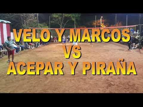 Velo y Marcos Vs Acepar y Piraña. 2 toques. FUTVOLEY. FOOTVOLLEY. FUTEVOLEI.