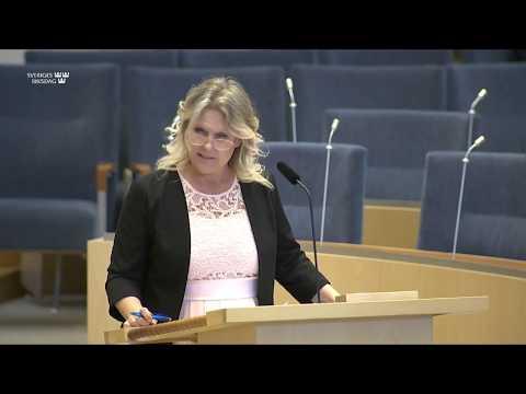 Ann-Christine From Utterstedt - varför har vård och omsorgspersonal inte fått skydd?