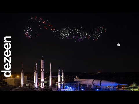 Studio Drift's drone performance lifts off at Kennedy Space Center
