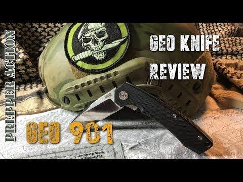 Geoknife GEO-901 knife review