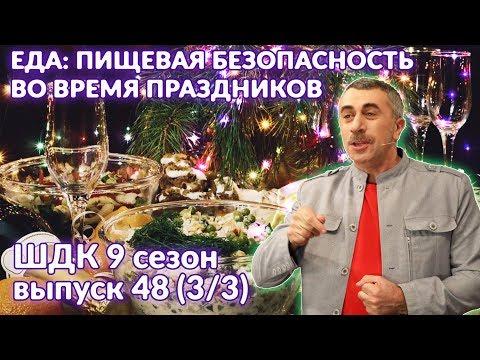 Еда: пищевая безопасность во время праздников - Доктор Комаровский