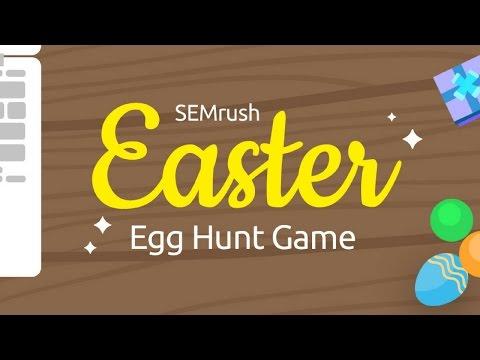 Virtual SEMrush Egg Hunt Tour