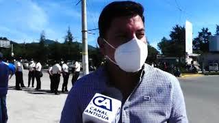 Veteranos mantienen bloqueos en Salcajá