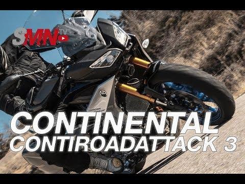 Prueba neumáticos Continental Contiroad Attack 3 2019 [FULLHD]