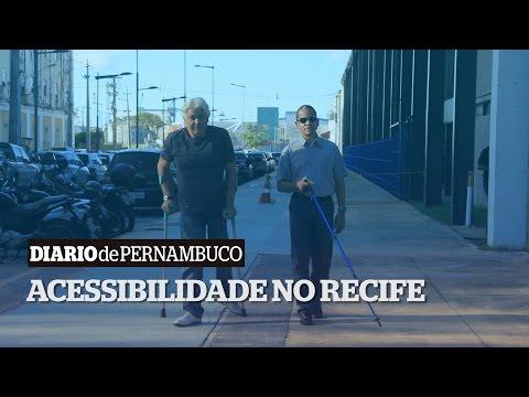 Falta de acessibilidade nos pontos tur�sticos do Recife