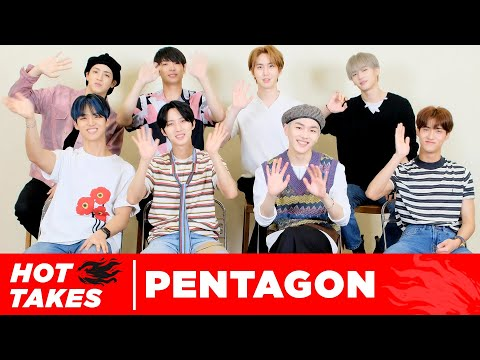 PENTAGON Dishes Hot Takes On Their Own Music