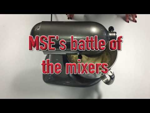 MSE's battle of the mixers – which cake mixer will rise to the top in our own bake off challenge?