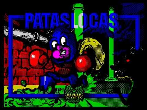 RETROJuegos HOMEBREW .... PATASLOCAS para ZX Spectrum - Review por Fabio Didoné
