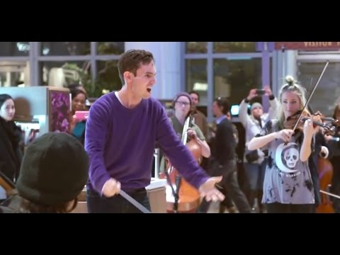 Flashmob - Gustav Holst - The Planets: Jupiter (Berklee Contemporary Symphony Orchestra)