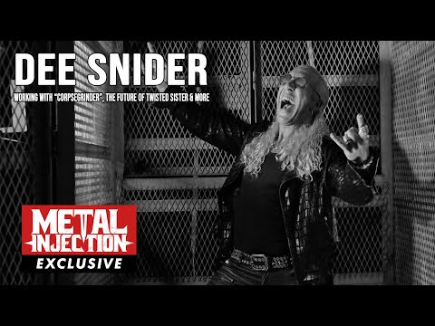 DEE SNIDER On Working With CORPSEGRINDER,  The Future of TWISTED SISTER & More   Metal Injection